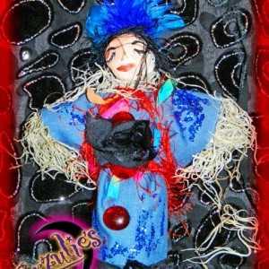 New Orleans Voodoo Dolls ~ Erzulie-Danto Voodoo Dolls