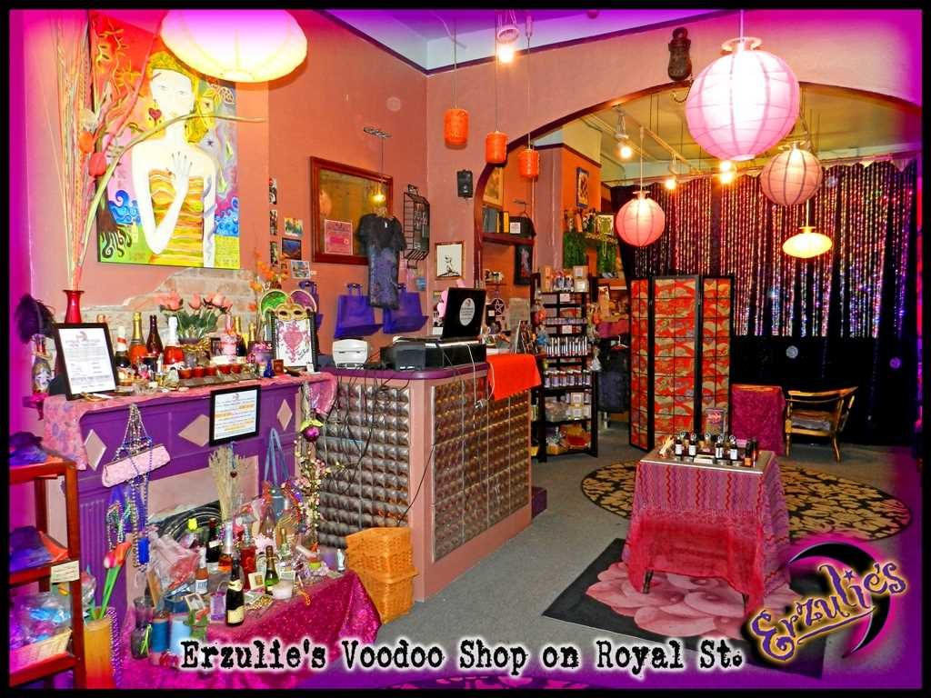 New Orleans Voodoo Store for Voodoo Dolls, Voodoo Spells, Love Spells & Psychic Readings at Erzulie's Authentic Voodoo of New Orleans in the French Quarter!