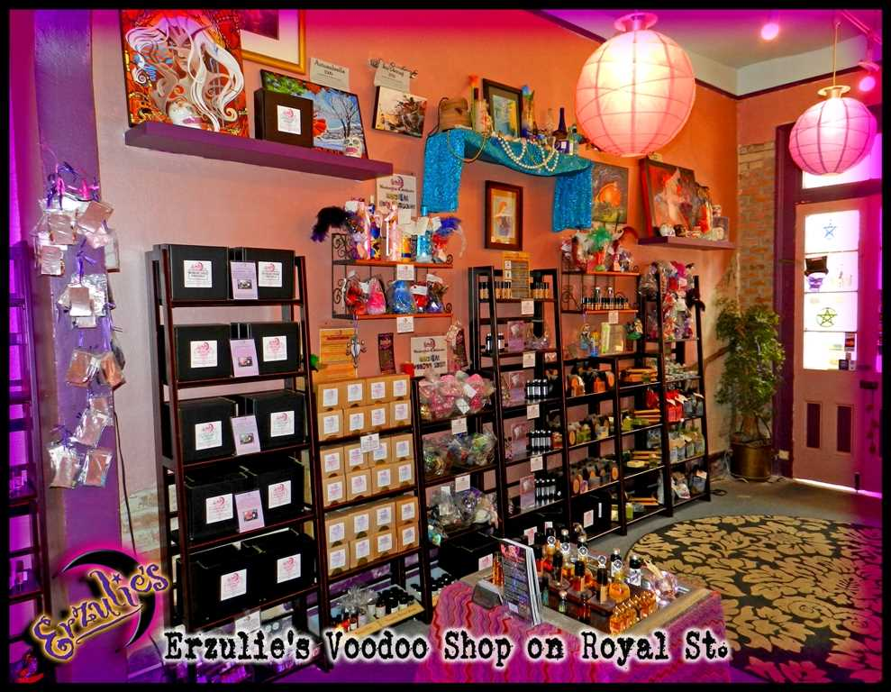 New Orleans Voodoo Shop for Voodoo Spells, Love Spells, Voodoo Dolls & Psychic Readings at Erzulie's Authentic Voodoo of New Orleans in the French Quarter