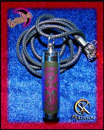 Perfume Oils & Perfume Vials for Sherrilyn Kenyon ~ Dark Hunter Series Perfume Oils and Chronicles of Nick Perfume Oils & Vial Necklaces for Simi!