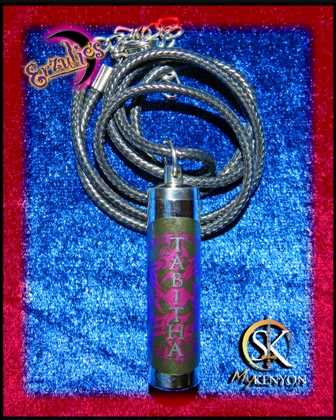 Perfume Oils & Perfume Vials for Sherrilyn Kenyon ~ Dark Hunter Series Perfume Oils and Chronicles of Nick Perfume Oils & Vial Necklaces for Tabitha!