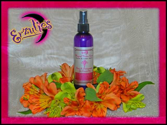 Room Sprays and Linen Mists ~ Handcrafted Aromatic Room Sprays, Linen Mists, Aromatherapy Room Sprays, Aromatic Linen Mists, Magical Linen Mists, Magical Sprays, Natural Linen Mists, Natural Room Sprays, Spiritual Room Sprays at Erzulie's Authentic Voodoo