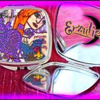 Voodoo Spells, Voodoo Gifts, New Orleans Gifts, French Quarter Gifts, Voodoo Goddess, Voodoo Goddess Gifts, Goddess Compacts, Voodoo Magic Gifts, New Orleans Voodoo Gifts