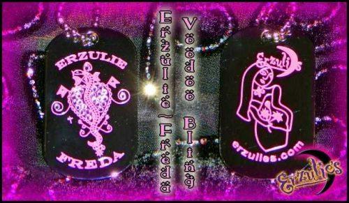 Voodoo Spells, Voodoo Jewelry, Veve Jewelry, Lwa Jewery, Love Spells Jewelry, Dogtag Jewelry, Voodoo Veve Jewelry, Veve Jewelry, Gemstone Dogtags, Voodoo Magic Jewelry