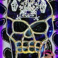 Voodoo Dolls, Voodoo Stained Glass Dolls, Voodoo Skull Glass Dolls, Magical Voodoo Glass Dolls, Authentic Voodoo Stained Glass Dolls of the Lwa