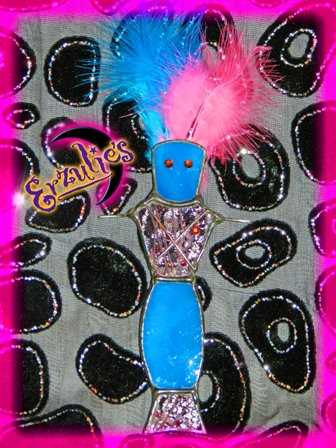 Voodoo Dolls, Voodoo Stained Glass Dolls, Voodoo Skull Glass Dolls, Magical Voodoo Glass Dolls, Authentic Voodoo Stained Glass Dolls of the Lwa