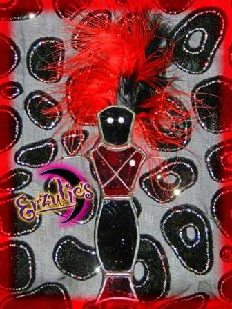 Voodoo Dolls, Stained Glass Voodoo Dolls, Voodoo Skull Glass Dolls and Magical Voodoo Stained Glass Dolls