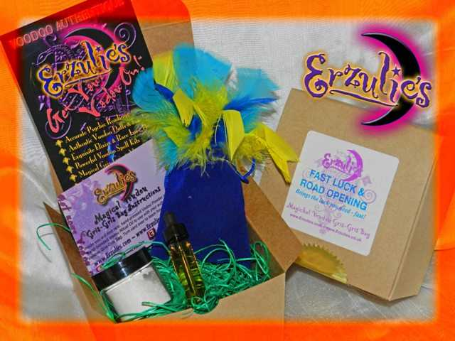Voodoo Spells and Voodoo Gris-Gris Bags ~ Magical Mojo Voodoo Gris-Gris Bags for Road Opening Voodoo Spells and Fast Luck Magic Spells