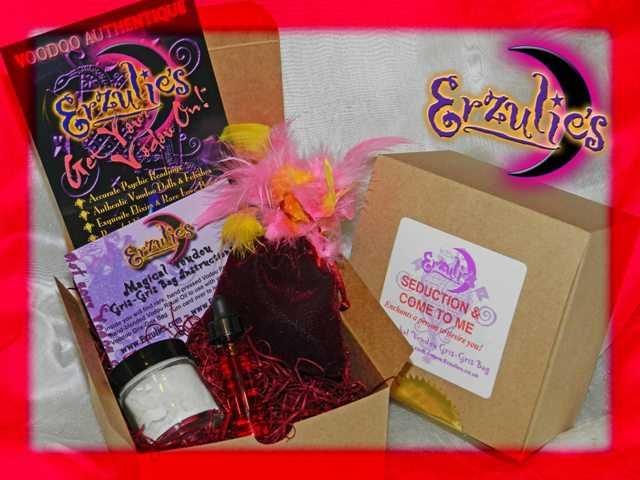 Voodoo Spells and Voodoo Gris-Gris Bags ~ Magical Mojo Voodoo Gris-Gris Bags for Love Spells, Seduction Spells and Come to Me Voodoo Spells