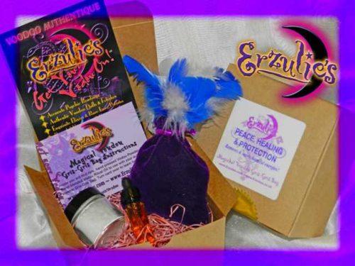 Voodoo Spells and Voodoo Gris-Gris Bags ~ Magical Mojo Voodoo Gris-Gris Bags for Healing Spells, Peace Spells and Protection Spells