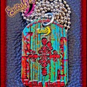 Voodoo God Dog-Tags & Color Veve Jewelry