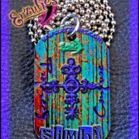 Voodoo Spells, Voodoo Jewelry, Color Veve Jewelry, Lwa Jewelry, Love Spells Jewelry, Color Dogtag Jewelry, Voodoo Veve Jewelry, Veve Jewelry, Gemstone Dogtags, Voodoo Magic Jewelry, Magic Charms, Magic Amulets, Voodoo Charms