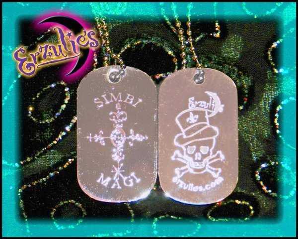 Voodoo Spells, Voodoo Jewelry, Veve Jewelry, Lwa Jewelry, Love Spells Jewelry, Dogtag Jewelry, Voodoo Veve Jewelry, Veve Jewelry, Gemstone Dogtags, Voodoo Magic Jewelry, Magic Charms, Magic Amulets, Voodoo Charms