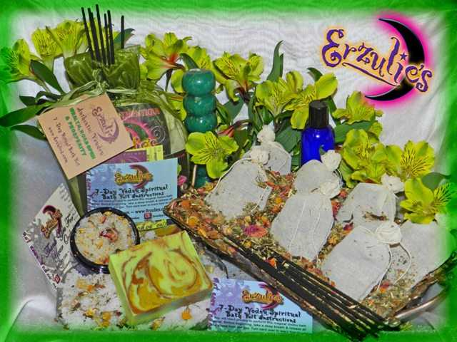 Voodoo Spells & Voodoo Spiritual Baths for Love Spells, Spiritual Cleansing, Wealth Spells & Banishing Spells and Rituals ~ 7 day Voodoo Ritual Baths