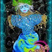 Voodoo Dolls & Petite Voodoo Veve Dolls