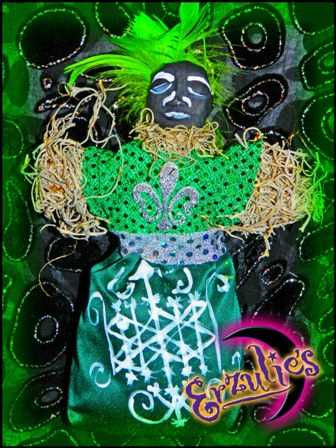 Voodoo Dolls, Voodoo Veve Dolls, Magical Voodoo Veve Dolls, Authentic Voodoo Veve Dolls