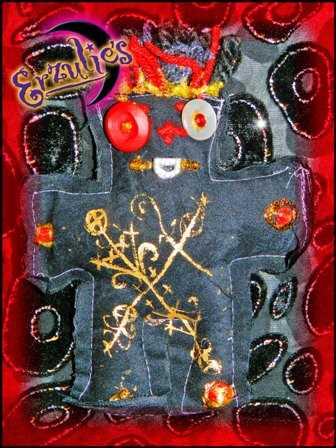 Voodoo Dolls & Voodoo Veve Poppet Dolls