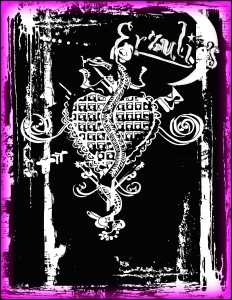 Voodoo Shop T-Shirts! New Orleans Voodoo Shop Couture Tank Tops for Ladies exclusively at Erzulie's Authentic Voodoo in New Orleans. Deep cut, hand-painted Veve Art Tank Tops on black, organic cotton for the Ladies!