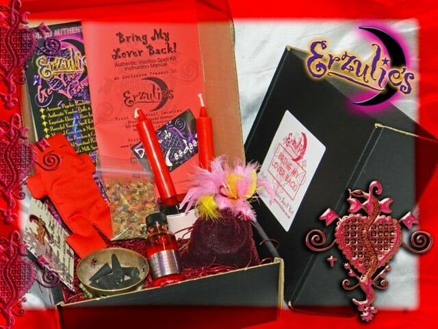 Voodoo Spells & Voodoo Spell Kits ~ Bring My Lover Back Voodoo Lover Return Spells