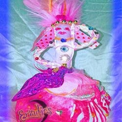 Voodoo Ouanga Dolls for Erzulie-Freda ~ Love & Passion Voodoo Dolls