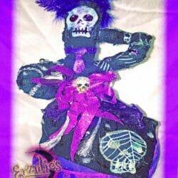 Voodoo Ouanga Dolls for Ghede ~ Justice & Transistion Voodoo Dolls