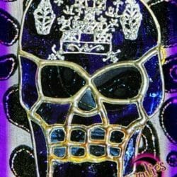 Voodoo Dolls ~ Voodoo Dolls ~ Voodoo Skull Stained Glass Dolls