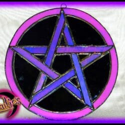 "Witchcraft Spells & Magic ~ Power"" Stained Glass Witchcraft Magic"""