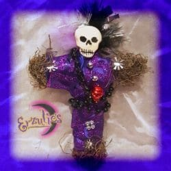New Orleans Voodoo Dolls for Ghede ~ Justice & Transistion Voodoo Dolls