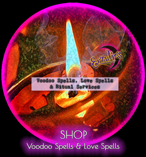 Love Spells, Voodoo Spells and Voodoo Love Spells ~ Powerful Love Spells, Voodoo Spells, Psychic Readings, Voodoo Dolls, and magical Voodoo ritual items handcrafted for you by initiated Vodou Practitioners at Erzulie's Authentic Voodoo New Orleans!