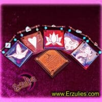 Dreamcatcher, Dream Tiles, Raku, Sacred Gits, Pottery Gifts, Raku Pottery, Magical Gifts, Magical Tiles, Wish Charms, Dreamcatchers, Gemstone Tiles, Gemstone Charms, Sacred Symbols, Magic Tiles, Dreams, Magic, Blessings