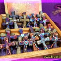 Sacred Crosses, Gemstone Crosses, Raku Crosses, Gemstone Sacred Cross, Pottery Gifts, Raku Pottery, Magical Gifts, Magical Crosses, Wish Charms, Dreamcatchers, Gemstone Cross, Gemstone Charms, Sacred Symbols, Magic, Dreams, Blessings