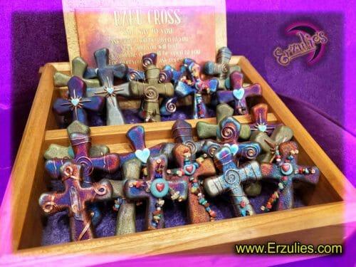 Sacred Crosses, Gemstone Crosses, Raku Crosses, Gemstone Sacred Cross, Pottery Gifts, Raku Pottery, Magical Gifts, Magical Crosses, Wish Charms, Dreamcatchers, Gemstone Cross, Gemstone Charms, Sacred Symbols, Magic, Dreams, Blessings