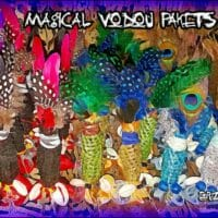 Vodun Pakets, Mini Mojo Bags, Conjure Bags, Fetish Wangas, Ancient African Magic, Magical Pakets, Gris-Gris, Magical Amulets, Magical Charms