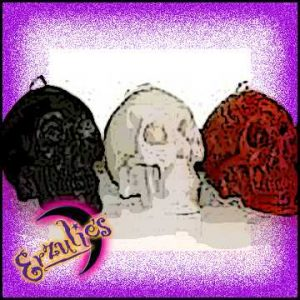 Skull Ritual Candles