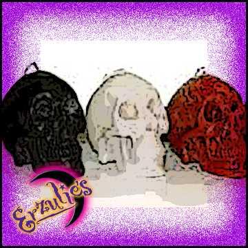 Skull Ritual Candles